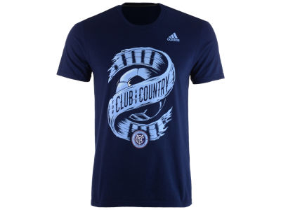 New York City FC adidas MLS Men's Club & Country T-Shirt