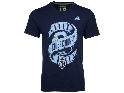 Sporting Kansas City adidas MLS Men's Club & Country T-Shirt