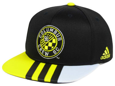 Columbus Crew SC adidas MLS Kids Authentic Snap Cap
