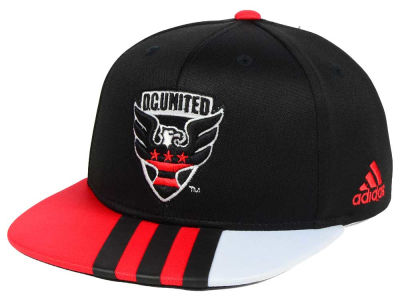 DC United adidas MLS Kids Authentic Snap Cap