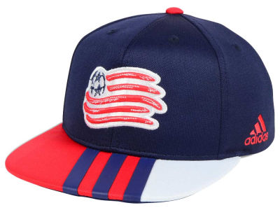 New England Revolution adidas MLS Kids Authentic Snap Cap