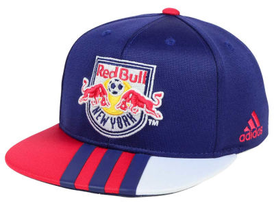 New York Red Bulls adidas MLS Kids Authentic Snap Cap