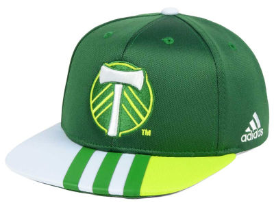 Portland Timbers adidas MLS Kids Authentic Snap Cap