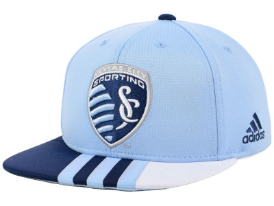 Sporting Kansas City adidas MLS Kids Authentic Snap Cap