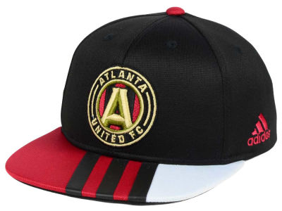 Atlanta United FC adidas MLS Kids Authentic Snap Cap