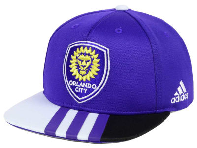 Orlando City SC adidas MLS Kids Authentic Snap Cap