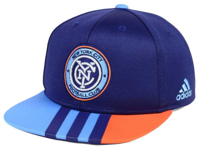 New York City FC adidas MLS Kids Authentic Snap Cap