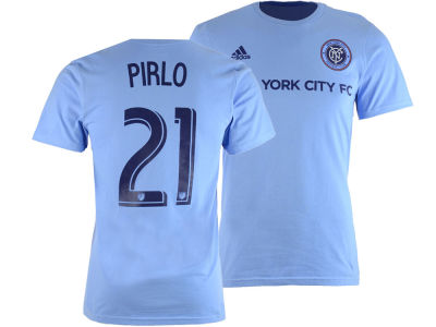 New York City FC Andrea Pirlo adidas MLS Men's Primary Player T-Shirt