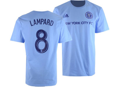 New York City FC Frank Lampard adidas MLS Men's Primary Player T-Shirt