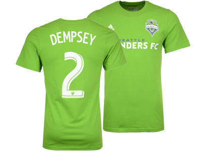 Seattle Sounders FC Clint Dempsey adidas MLS Men's Primary Player T-Shirt