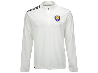 Orlando City SC adidas MLS 3-Stripe 1/4 Zip Pullover