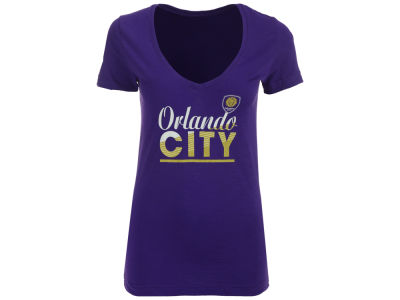 Orlando City SC adidas MLS Women's Slant Line Repeat T-Shirt