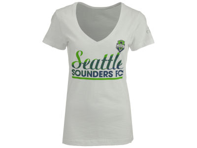 Seattle Sounders FC adidas MLS Women's Slant Line Repeat T-Shirt
