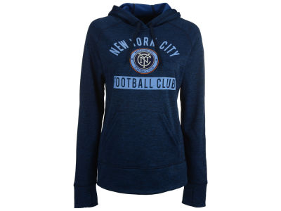 New York City FC adidas MLS Women's Bottom Pill Hoodie