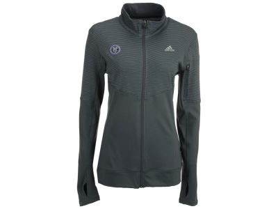New York City FC adidas MLS Women's Full Zip Jacket