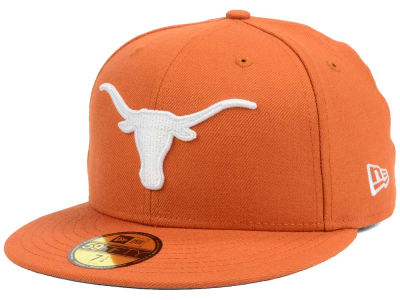 Texas Longhorns New Era NCAA Classic Wool Fitted 59FIFTY Cap