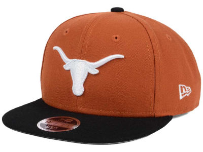 Texas Longhorns New Era NCAA Youth State Clip 9FIFTY Snapback Cap
