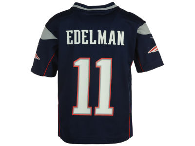 New England Patriots Julian Edelman Nike NFL Toddler Game Jersey