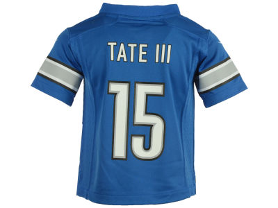 Detroit Lions Golden Tate Nike NFL Toddler Game Jersey
