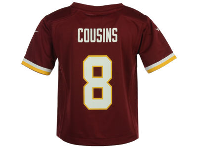 Washington Redskins Kirk Cousins Nike NFL Toddler Game Jersey