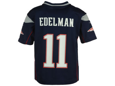 New England Patriots Julian Edelman Nike NFL Kids Game Jersey