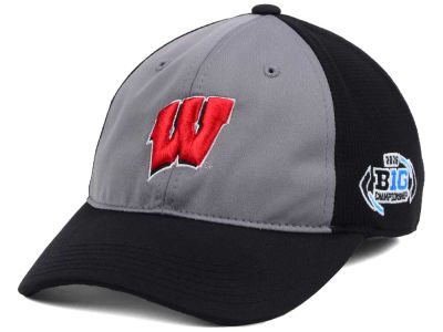 Wisconsin Badgers Top of the World NCAA 2016 Big 10 Game Dynamic Flex Cap