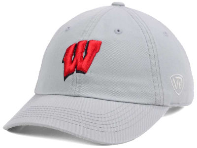 Wisconsin Badgers Top of the World NCAA 2016 Big 10 Game Crew Adjustable Cap