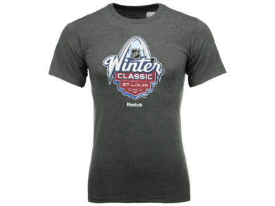 St. Louis Blues Reebok NHL Men's Winter Classic Logo T-Shirt