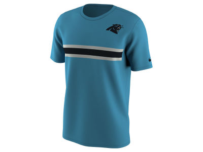Carolina Panthers Nike NFL Men's Color Pack Stripe T-Shirt