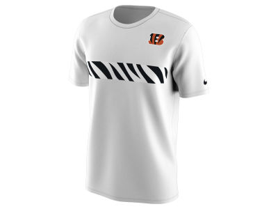 Cincinnati Bengals Nike NFL Men's Color Pack Stripe T-Shirt
