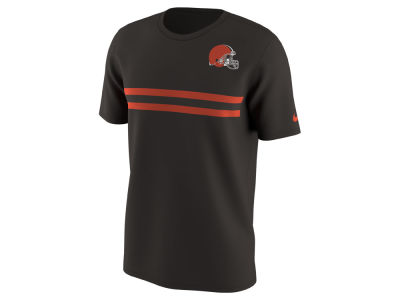 Cleveland Browns Nike NFL Men's Color Pack Stripe T-Shirt