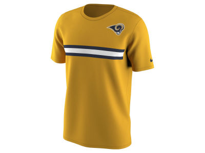Los Angeles Rams Nike NFL Men's Color Pack Stripe T-Shirt