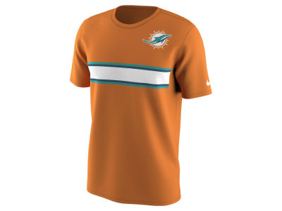 Miami Dolphins Nike NFL Men's Color Pack Stripe T-Shirt