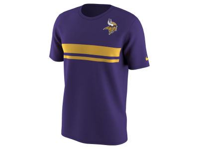 Minnesota Vikings Nike NFL Men's Color Pack Stripe T-Shirt