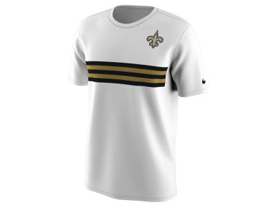 New Orleans Saints Nike NFL Men's Color Pack Stripe T-Shirt