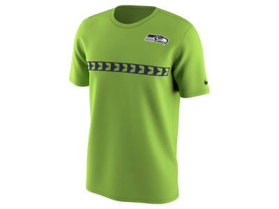 Seattle Seahawks Nike NFL Men's Color Pack Stripe T-Shirt