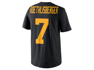 Pittsburgh Steelers Ben Roethlisberger Nike NFL Men's Color Pack Name & Number T-Shirt