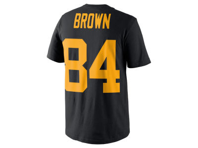 Pittsburgh Steelers Antonio Brown Nike NFL Men's Color Pack Name & Number T-Shirt