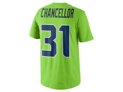 Seattle Seahawks KAM CHANCELLOR Nike NFL Men's Color Pack Name & Number T-Shirt