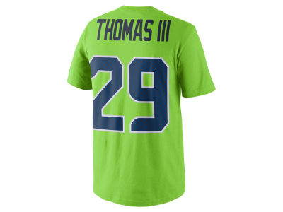 Seattle Seahawks EARL THOMAS III Nike NFL Men's Color Pack Name & Number T-Shirt