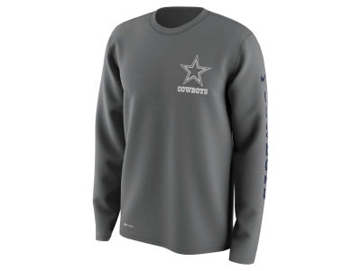 Dallas Cowboys Nike NFL Men's Trainspeed Long Sleeve Legend T-Shirt