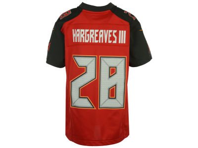 Tampa Bay Buccaneers Vernon Hargreaves, III Nike NFL Youth Game Jersey