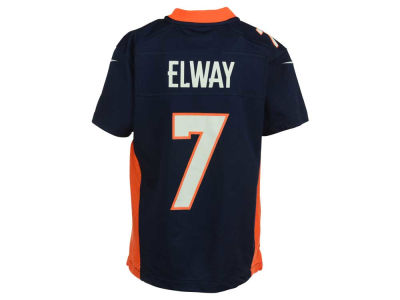 Denver Broncos John Elway Nike NFL Youth Game Jersey