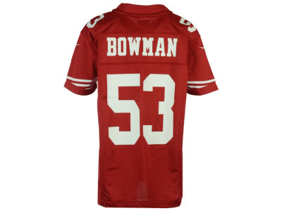 San Francisco 49ers NaVorro Bowman Nike NFL Youth Game Jersey