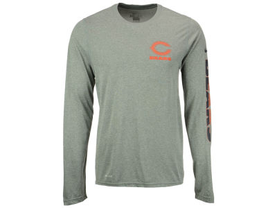 Chicago Bears Nike NFL Men's Trainspeed Long Sleeve Legend T-Shirt