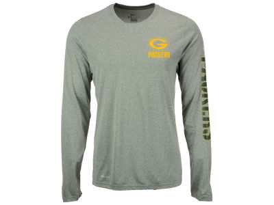 Green Bay Packers Nike NFL Men's Trainspeed Long Sleeve Legend T-Shirt
