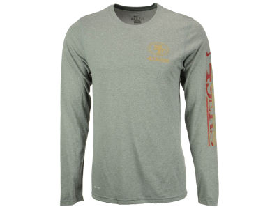 San Francisco 49ers Nike NFL Men's Trainspeed Long Sleeve Legend T-Shirt