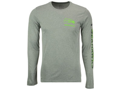 Seattle Seahawks Nike NFL Men's Trainspeed Long Sleeve Legend T-Shirt