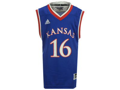 Kansas Jayhawks #16 adidas NCAA Youth Replica Basketball Jersey