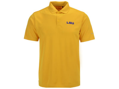 LSU Tigers Columbia NCAA Men's Round One Polo Shirt